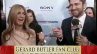 Gerard Butler Interview Jennifer Aniston New York The Bounty Hunter Premiere HIGHLIGHTS
