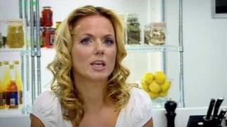 Geri Halliwell has Gordon Ramsay on kitchen floor - The F Word