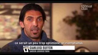 Gianluigi Buffon with Astrid Bard Canal FC