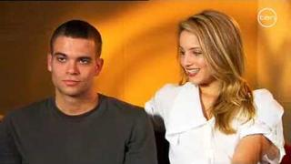 Glee Mark Salling & Dianna Agron Australian Interview Channel 10