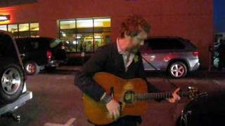 Glen Hansard - Say It To Me Now (Live outside of Fingerprints Records in Long Beach, Ca 10.20.2009)