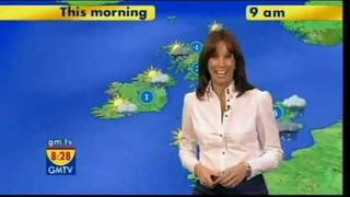 GMTV - Andrea is well fit (28.11.08)