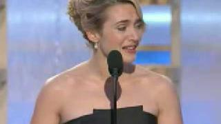Golden Globes 2009 Kate Winslet acceptance speech