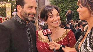 Golden Globes 2009 Tony Shalhoub & Brooke Adams