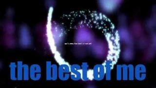 Goo Goo Dolls The Best of Me-lyric video