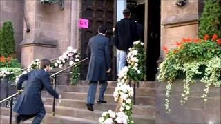 Gossip Girl Filming 11/9/11-Royal Wedding Day 1