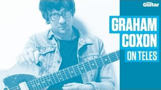 Graham Coxon on Fender Telecasters