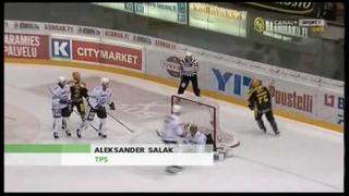 Great save by Alexander Salak