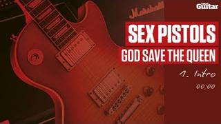 Guitar Lesson: Sex Pistols 'God Save The Queen' -- Part One -- Intro (TG214)
