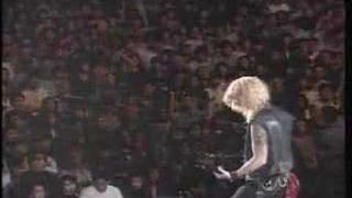 Guns n' Roses - duff bass solo Tokyo 1992