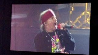 Guns N' Roses You Could Be Mine London O2 With Duff Mckagan (Screenshot)