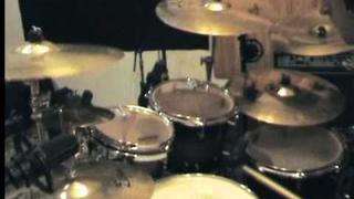 """hacride """" to walk among them"""" on drums !! one shot, no edit !"""