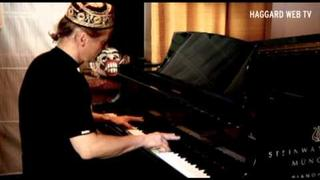 "Haggard Web TV - Hans Wolf plays ""Awaking The Centuries"" Piano Part"