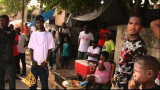 Haitians rally for Wyclef Jean's presidential candidacy