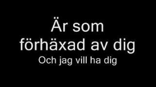Håll om Mig Nu [Nanne Grönvall] *With Lyrics*