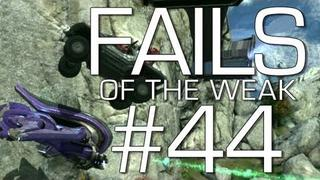 Halo: Reach - Fails of the Weak Volume 44 (Funny Halo Bloopers and Screw-Ups!)