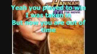 Hannah Montana The Movie - (Steve Rushton) - Game Over With Lyrics