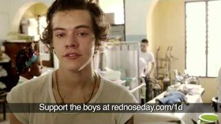 Harry Styles and Liam Payne from One Direction witness malaria's deadly ef