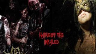 Harvest The Impaled- Dawn of Ashes Ft Jezebel Deva NEW SONG 2009