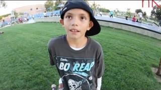 HAVE YOU HEARD OF ???? - 10 YEAR OLD RENE SERRANO SKATEBOARDING