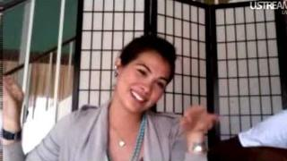 Hayley Kiyoko Ustream 6/15/11 (1/3)