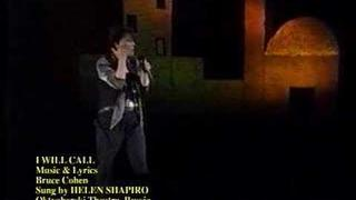 """Helen Shapiro Sings """"I Will Call"""""""