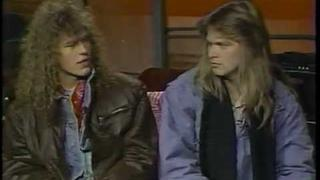 HELLOWEEN INTERVIEW 1988! VINTAGE MTV HEADBANGER'S BALL! PT. 1
