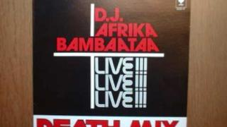 HipHop Oldschool Vinyl: DJ Afrika Bambaataa - Death Mix (Side 1)