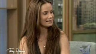 Holly Marie Combs on the Tony Danza Show