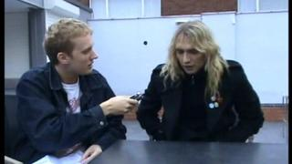 HOT LEG Interview: Justin Hawkins 17/10/2008