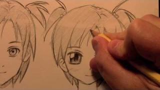 How to Draw a Manga Face, 3 Different Ways