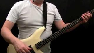How To Play Bass Gutiar To Tush - ZZ Top - Dusty Hill - Beginner's Bass Lessons