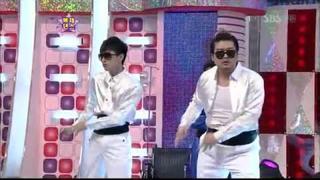 HQ] SK.724 Shindong & Eunhyuk's Amazing Dancing Skills