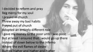 Ian Gillan - No Laughing in Heaven (Video Lyrics)