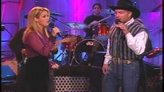 """IN ANOTHER´S EYES"" - TRISHA & GARTH BROOKS - CD: SONGBOOK 1998"