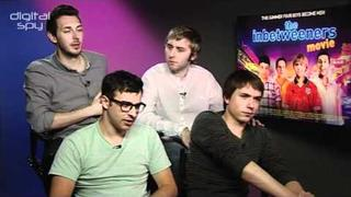 'Inbetweeners Movie': Simon Bird, Joe Thomas, James Buckley, Blake Harrison