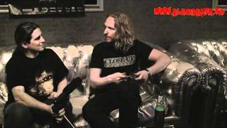 Interview with Mikael Stanne from Dark Tranquillity - Bucharest / Romania 19.05.2011