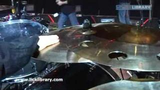 Interview with Ray Luzier @ Brixton academy 2008