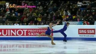 ISU BERNA 2011 27/01/2011 PAIRS FP -8/16- Klara KADLECOVA Petr BIDAR