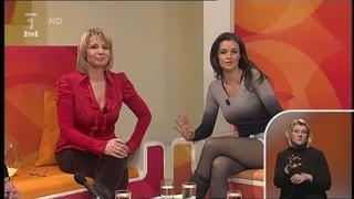 Iva kubelková Krásná Moderátorka Sama Doma 08.02.2011