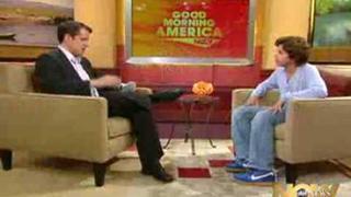 Jake T. Austin na Good Morning America Now