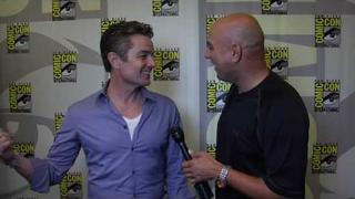 James Marsters interview (Barnabas Greeley) for Caprica at Comic Con 2010