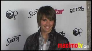 James Maslow and Chrishell Stause at STAR MAGAZINE YOUNG HOLLYWOOD EVENT