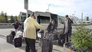 James Maslow, Carlos Pena and Big Time Rush Crew are Heading Home