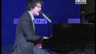 Jamie Cullum - The Singin' Umbrella mashup live at Music Matters 2009