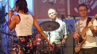 """Jana Kirschner - """"Na čiernom koni"""" (City fest Žiar nad Hronom 2009)"""