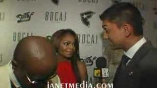 Janet and JD at VMA after party