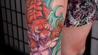 Japanese Tiger Tattoo by Jason Dunn Tattoo .com