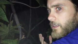 Jared Leto is lost in the wilderness. But there's something else out there with him...