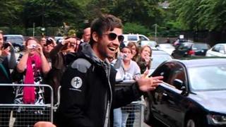 Jason orange leaving gjs hotel manchester 2011